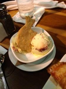 Red velvet ice cream.