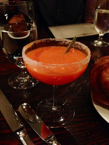 Carrot Margarita (Tequila Blanco, Damiana, Lime, Carrot Juice)